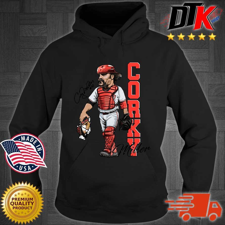 Corky Miller Hall Of Heroes Shirt Hoodie den