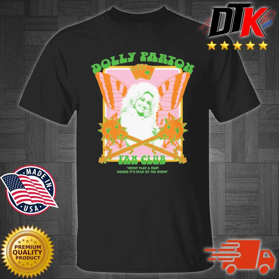 Jimmy Knives Yowcho Merch Dolly Parton Fan Club Black Shirt