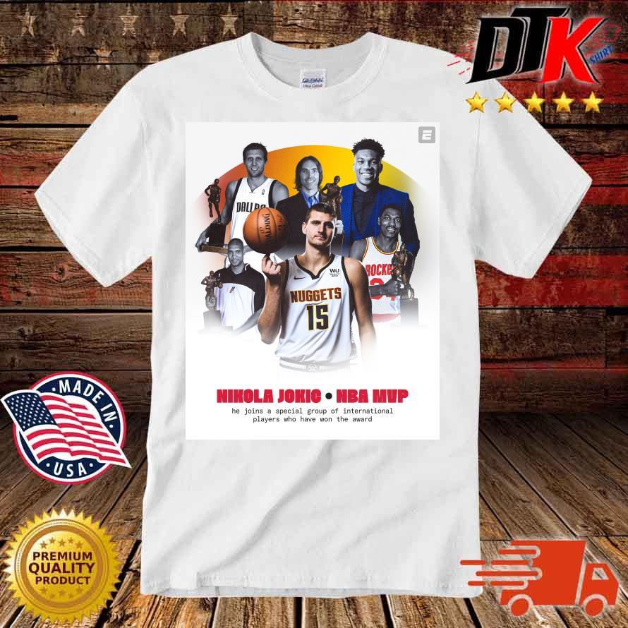Nikola Jokić NBA Mvp he join a special group shirt