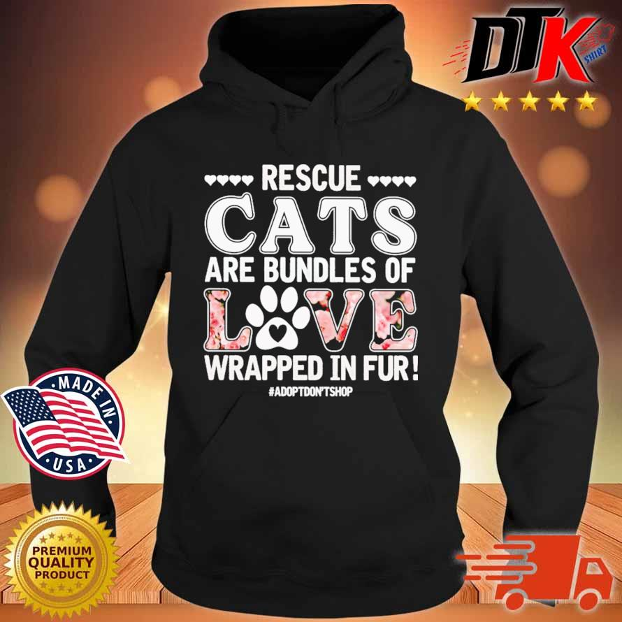 Rescue cats are bundles of love wrapped in fur s Hoodie den