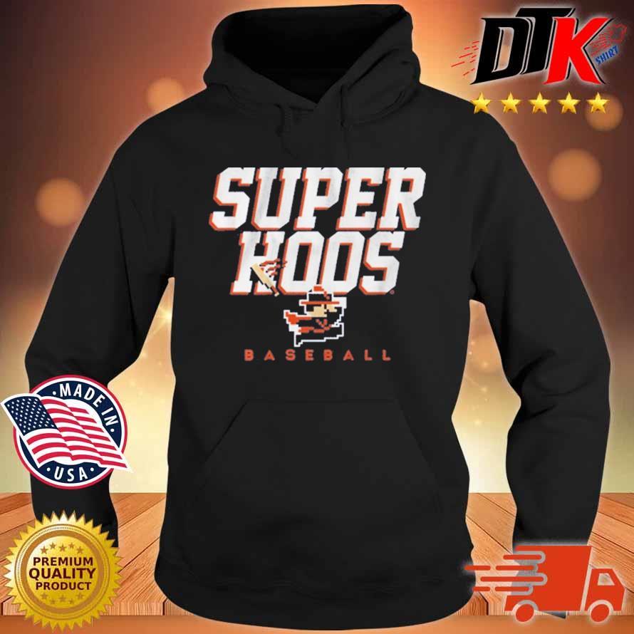Super Hoos CavMan Baseball Shirt Hoodie den