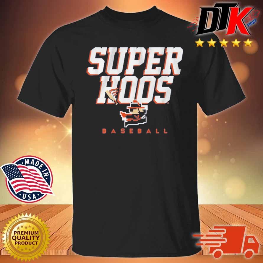 Super Hoos CavMan Baseball Shirt