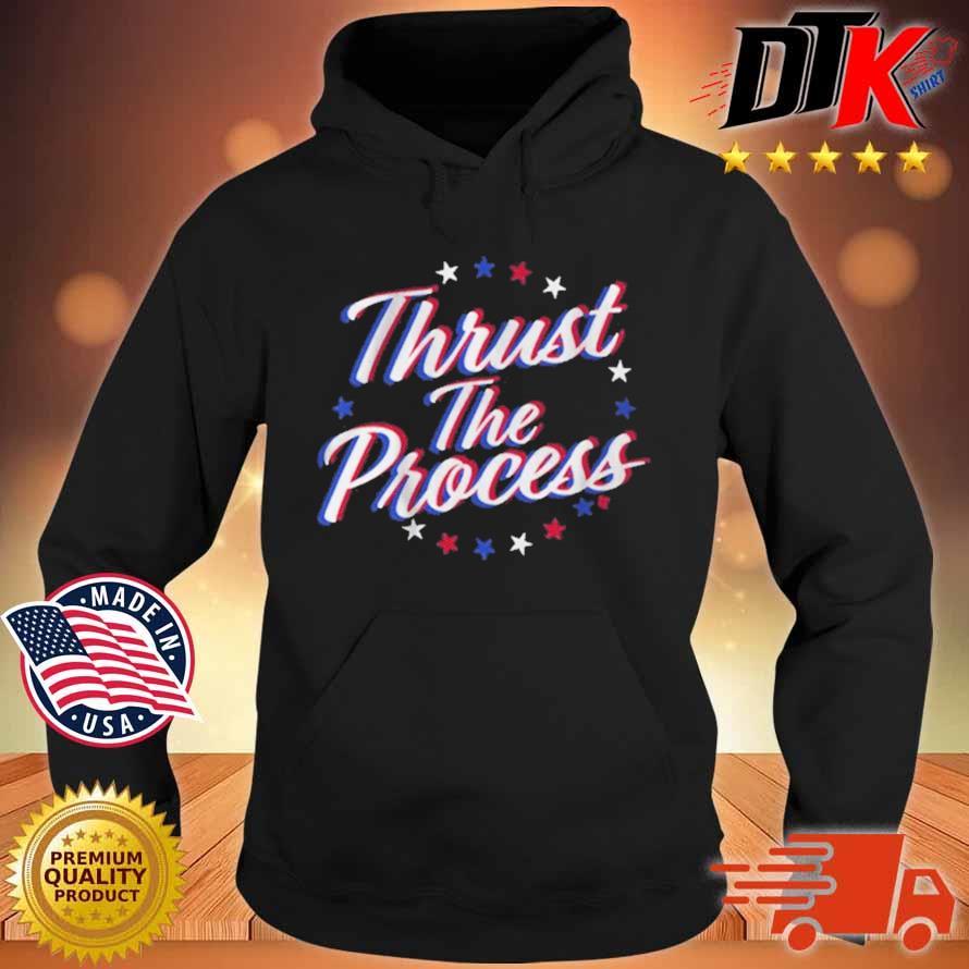 Thrust The Process Philadelphia Basketball Shirt Hoodie den