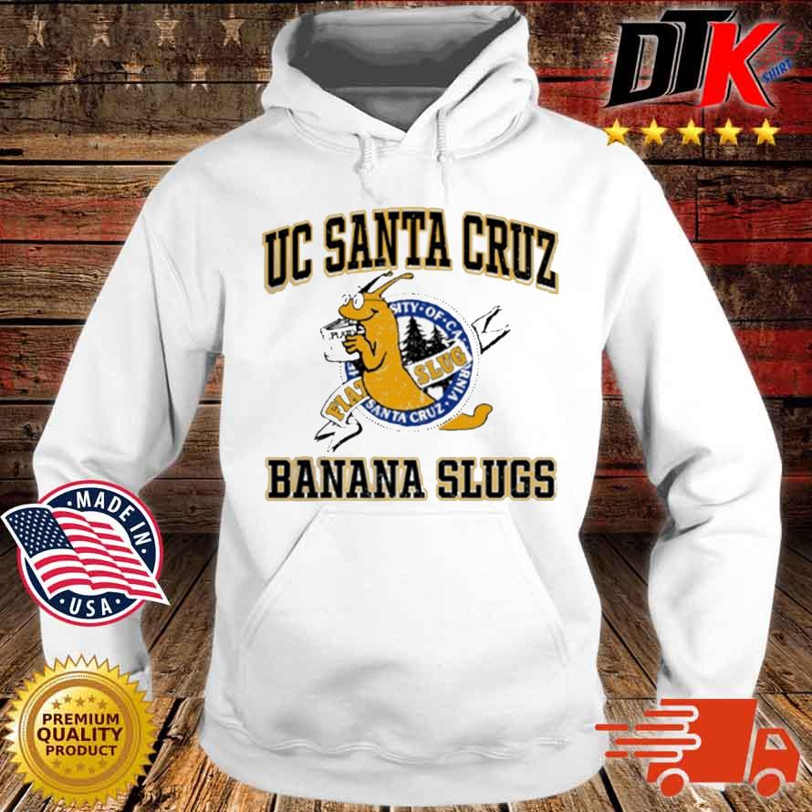 Uc Santa Cruz Banana Slugs Shirt Hoodie trang