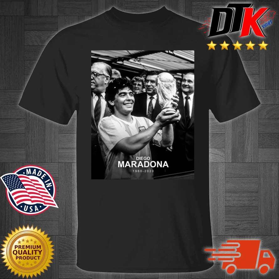 Rip Legend Diego Maradona Argentina Best Footballer 1960-2020 Shirt