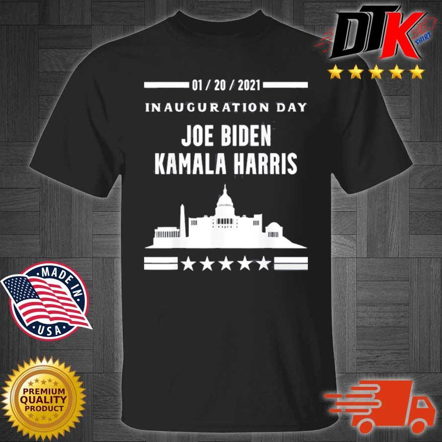 01 20 2021 inauguration day Joe Biden Kamala Harris shirt