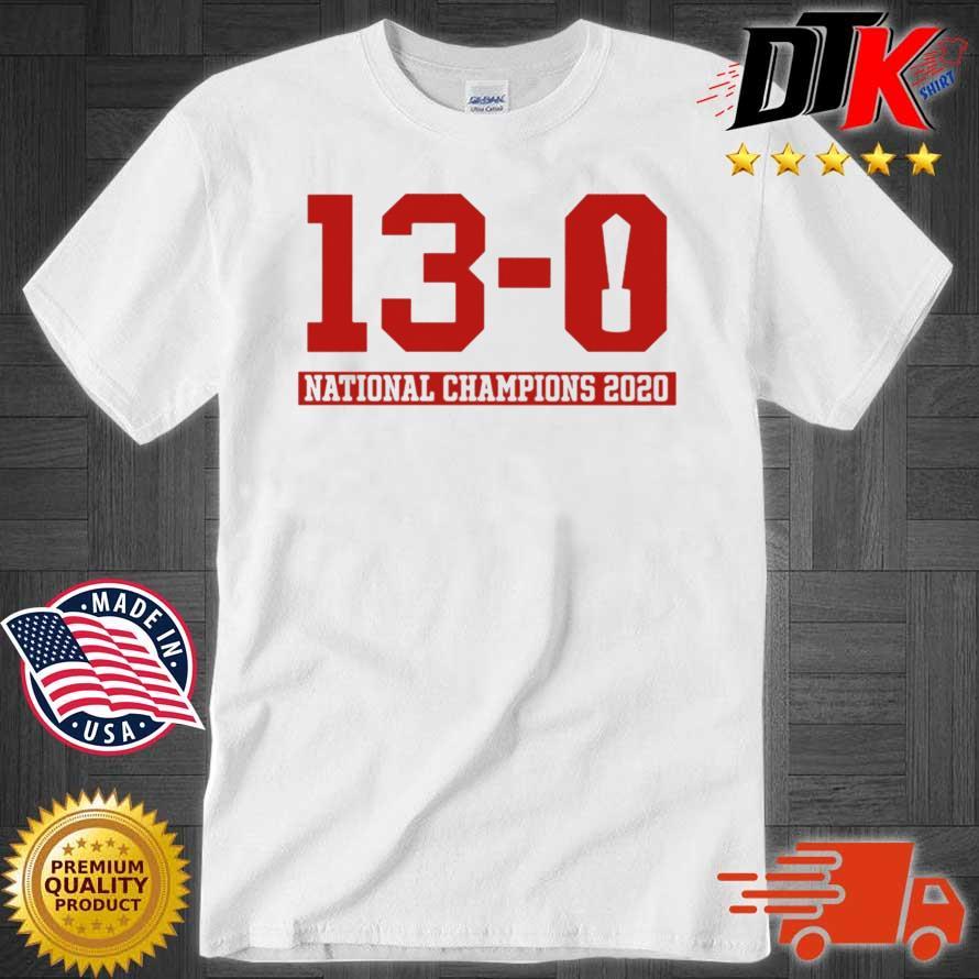 13-0 Alabama National Championship 2021 Shirt