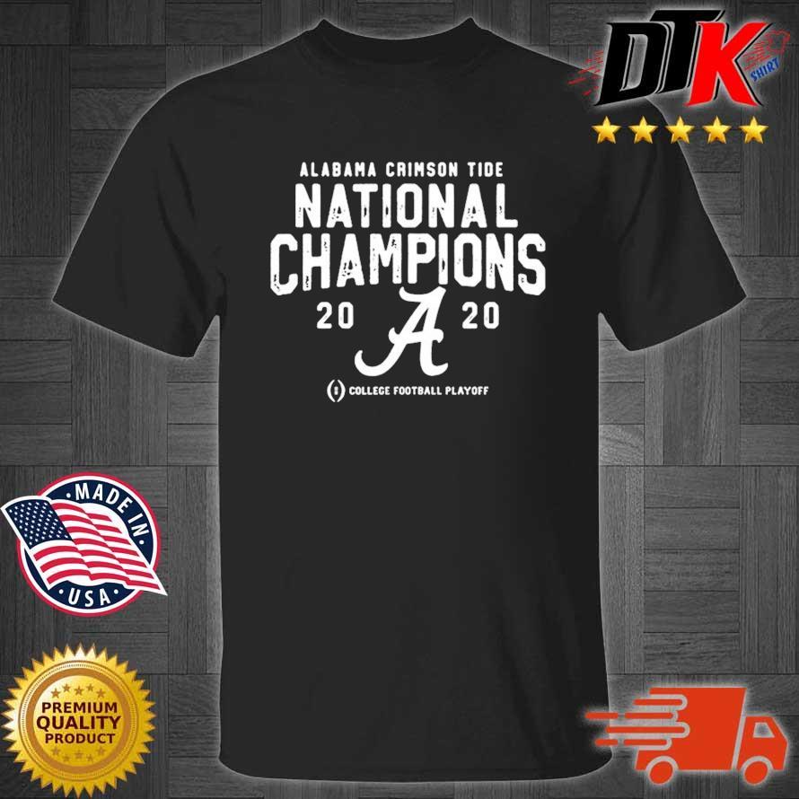 Alabama Crimson Tide College Football Playoff 2021 National Championship Shirt