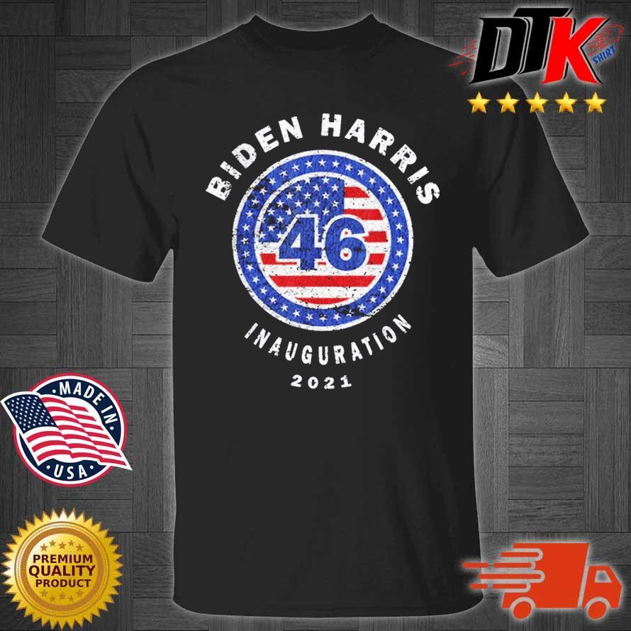 Joe Biden Inauguration Day 2021 46th President Distressed Shirt