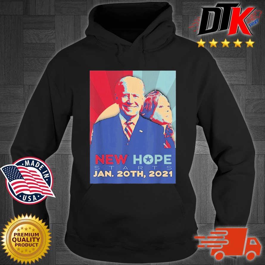 Joe Biden Kamala Harris new hope starts jan 20th 2021 s Hoodie den