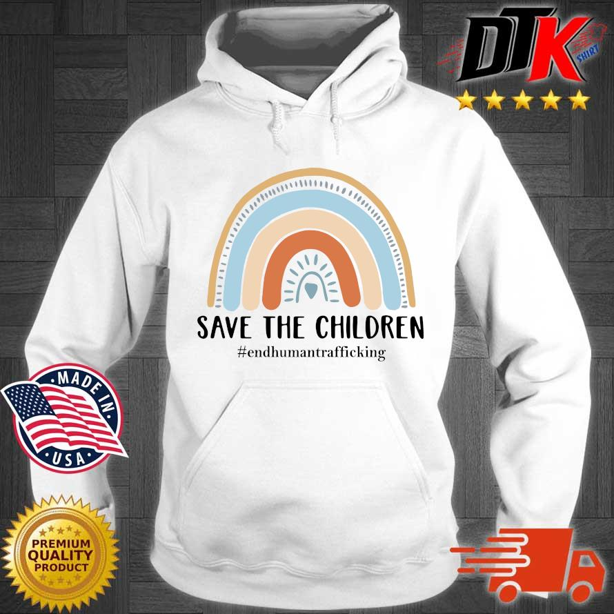 End human trafficking save the children s Hoodie trang