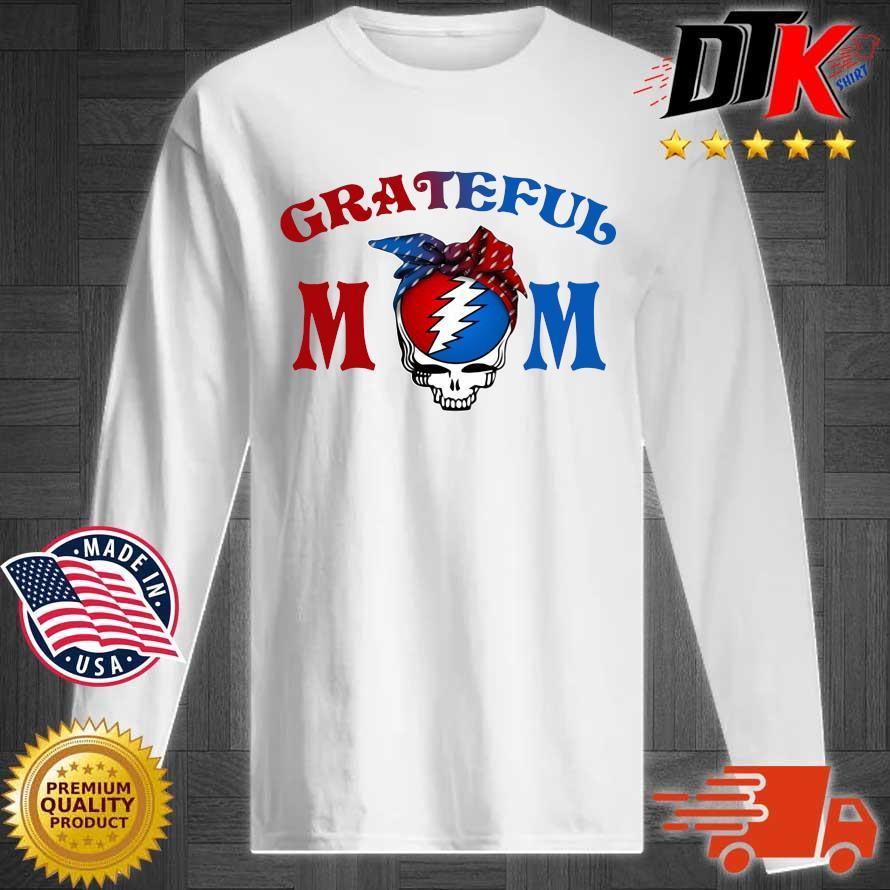 Grateful Dead mom s Longsleeve tee trang