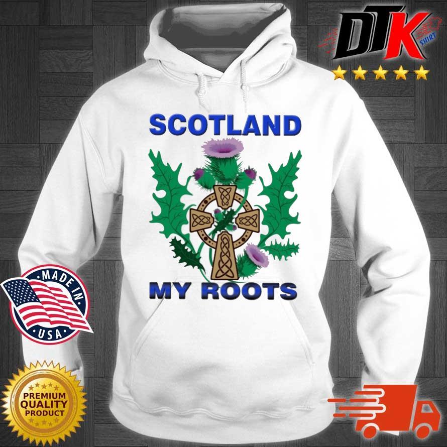 Scotland My Roots Classic Shirt Hoodie trang