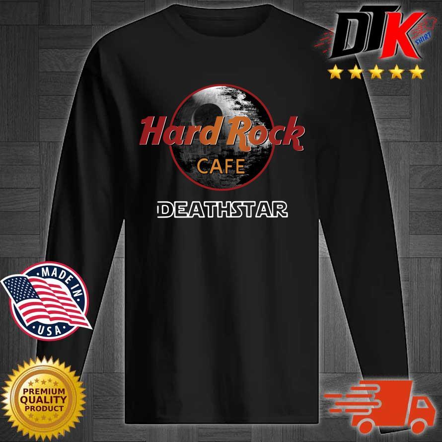 Star Wars Hard Rock cafe Death Star s Longsleeve tee den