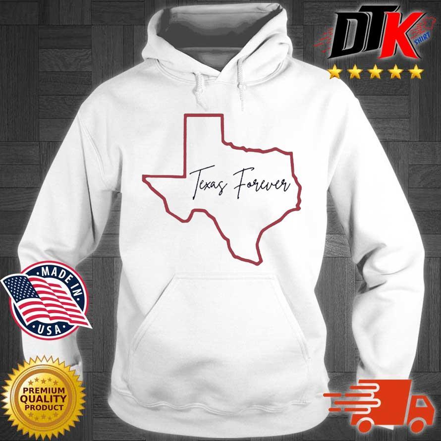 Texas Forever Shirt Hoodie trang