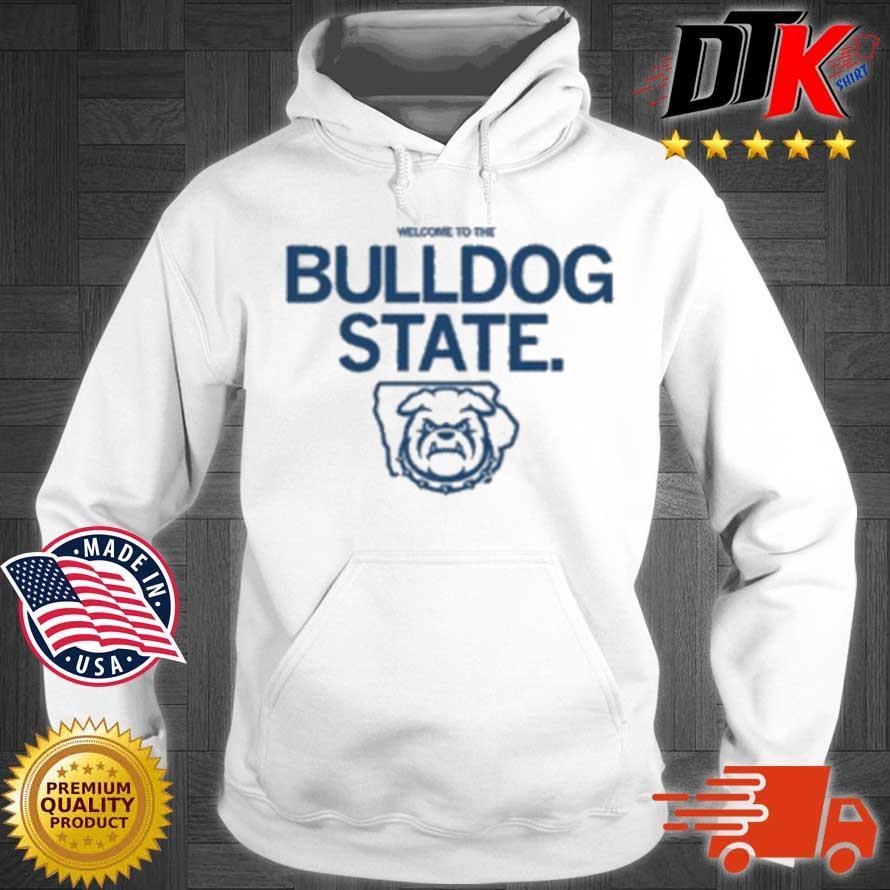 Welcome To The Bulldog State Logo Shirt Hoodie trang
